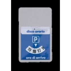 DISCO ORARIO PVC  MINI  7x11 cm   -26 410 205-