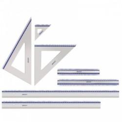 Intercalari in polipropilene A4 20 tacche NEUTRO con cartonc. colorati alfa/num Favorit art. 07/6200-03
