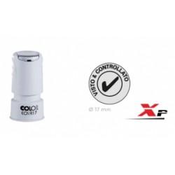 TIMBRO Colop  AUTOINCHIOST.  Express KIT EOS R 17  diametro 17 mm  - NERO