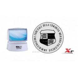 TIMBRO Colop  AUTOINCHIOST.  Express KIT EOS R 40  diametro 42 mm  - NERO