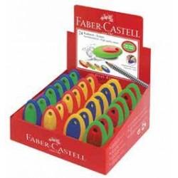 GOMMA Faber Castell OVAL COLORATA (senza PVC)