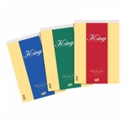 BLOCCO NOTES KING 21x29  60fg. POOL OVER  -24606-  80gr Bianco