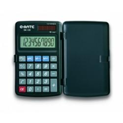 CALCOLATRICE  E-Mate  DK-128 10Cifre c/custodia rigida .96721