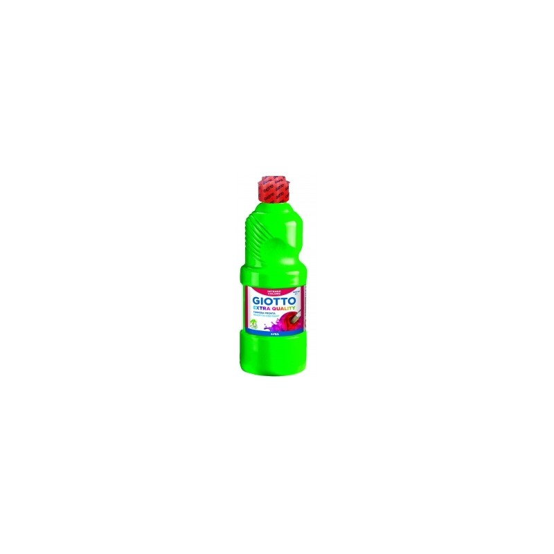 COLORI TEMPERA PRONTA GIOTTO da 500ml  -5328- VERDE