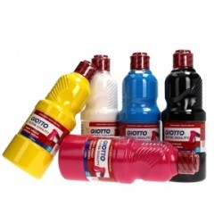 COLORI TEMPERA PRONTA GIOTTO da 500ml  -5328- CIANO