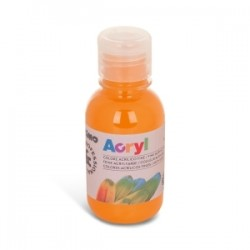 COLORI TEMPERA -CMP- ACRILICO 125ml - ARANCIO
