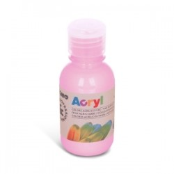 COLORI TEMPERA -CMP- ACRILICO 125ml - ROSA