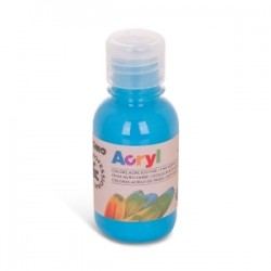 COLORI TEMPERA -CMP- ACRILICO 125ml - CYANO