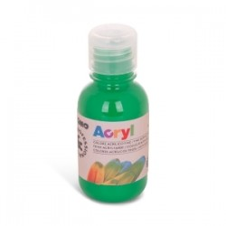 COLORI TEMPERA -CMP- ACRILICO 125ml - VERDE BRILLANTE