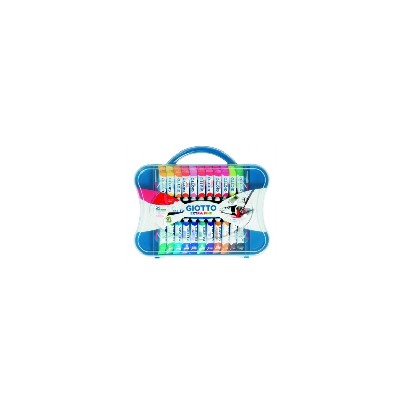 COLORI TEMPERA GIOTTO  Tubo-4  12ml  scatola 24colori    -305100-