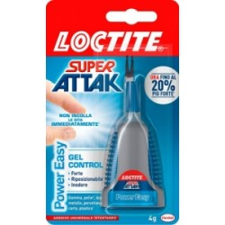 COLLA SUPER ATTAK  4gr   Power Easy  CONTROL  -2047419-  (Non Incolla le Dita)