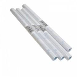 COPRI LIBRO ROTOLO 5mt   TRASPARENTE  80my  PVC - NEUTRO