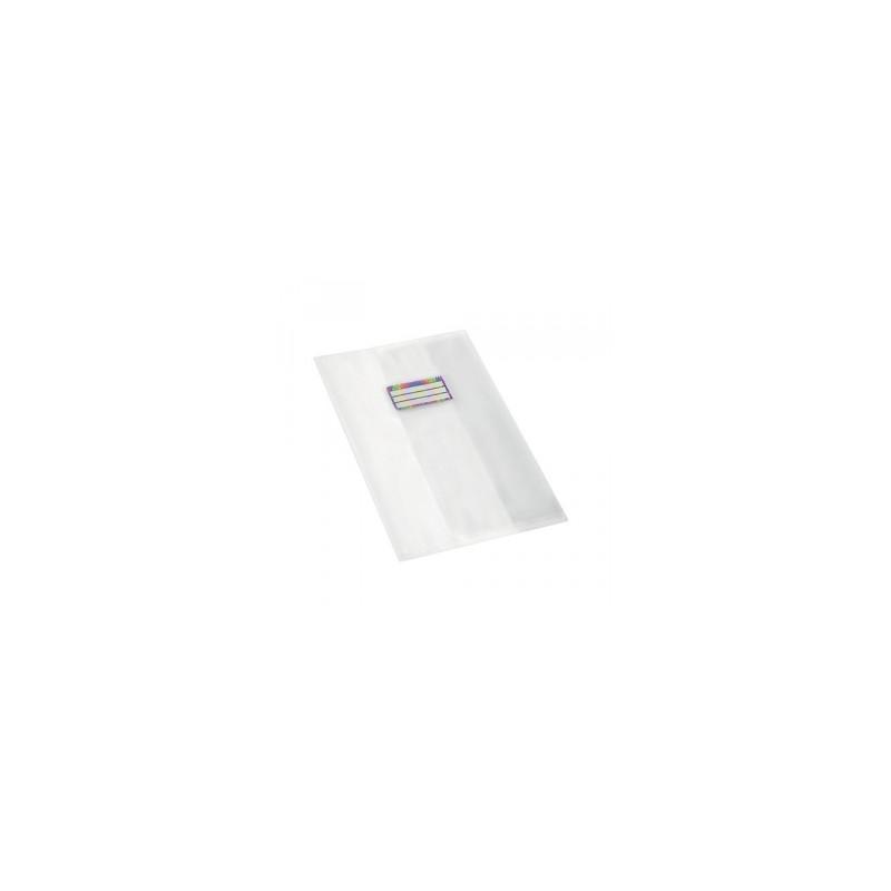 COPRI MAXI RiPlast -SETA- 120mic c/porta etichette - TRASPARENTE