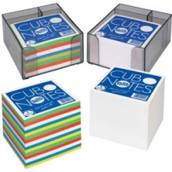CUBO NOTES 86x86 mm PORTAPENNA - BIANCO  -22210-