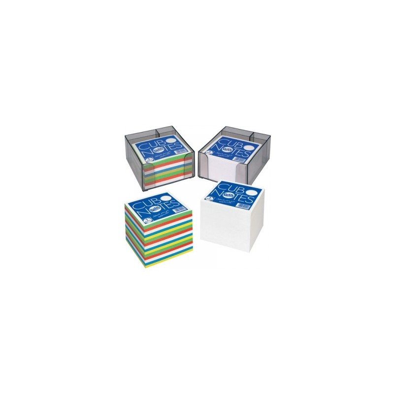 CUBO NOTES 86x86 mm PORTAPENNA - MULTICOLOR  -22220-