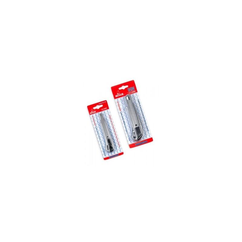 CUTTER PICCOLO LAMA 9mm - colore ARGENTO -4308B-