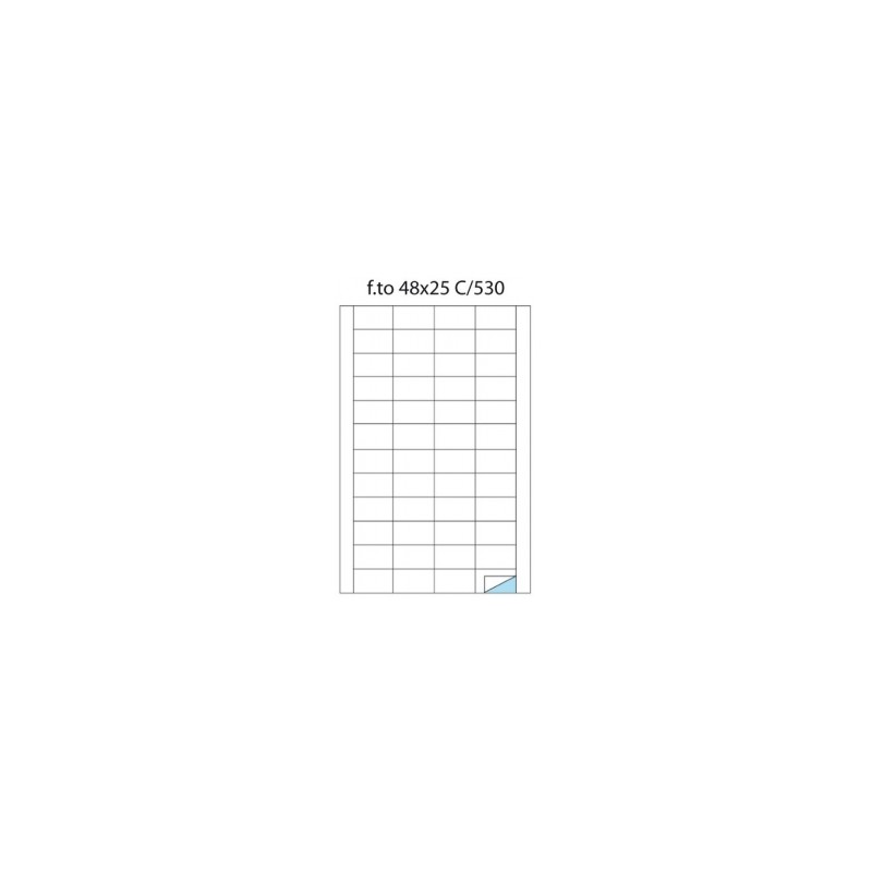 ETICH.ADESIVE -A4- Copy Laser POOL OVER -C530- 48x25