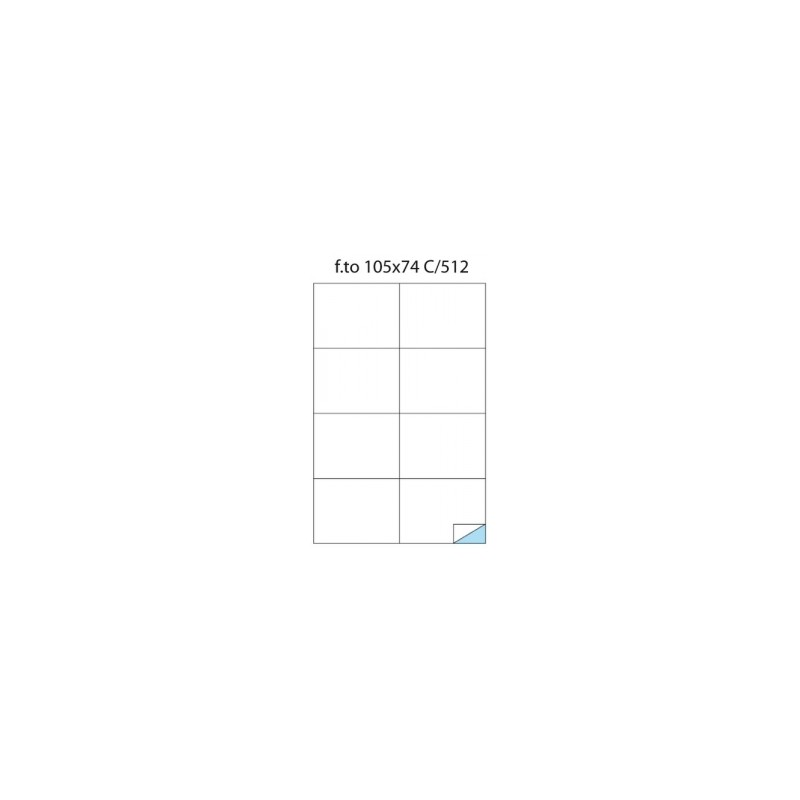 ETICH.ADESIVE -A4- Copy Laser POOL OVER -C512- 105x74