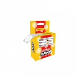 ETICH.ADESIVE MARKIN  Tonde d.30 IN DISPENSER - ORO
