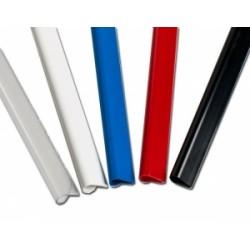 FASCICOLAZIONE- DORSI RILEGAFOGLI conf.50pz  d.3mm - ROSSO