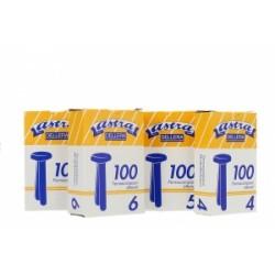 ELASTICI IN GOMMA da mm20 a mm120 - DIAM.100  -96812-