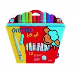 PENNARELL DISEGNO Giotto BE-BE  da 12 colori -466700-