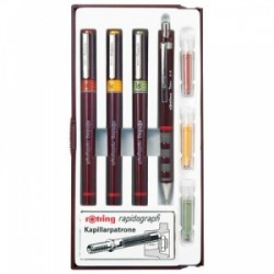 SET SCUOLA Rotring RAPIDO 2/4/6 + Portamine + 3refill   -S0699490-