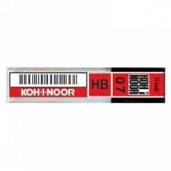 MINE DISEGNO K-I-Noor MICRO 0.7mm -HB- ast. 12pz