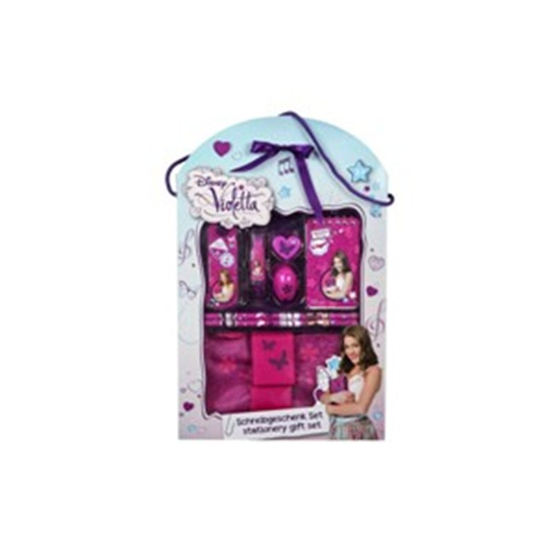 DISNEY VIOLETTA SET REGALO 8pz. KIDS  art. VIST2230