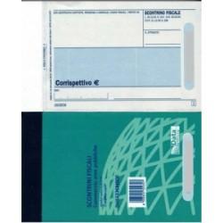 MODULISTICA Fiscale  BLOCCO SCONTRINO 7x12 MINI  100/100 autoricalcante (DU1633CM000)