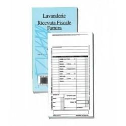 MODULISTICA Fiscale  BLOCCO RICEVUTE/FATTURE Lavanderie-Stirerie-Tintorie 50/50 (DU16177FN00)