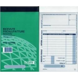 MODULISTICA Fiscale  BLOCCO RICEVUTE/FATTURE Generiche 50/50 (DU16107FN00)