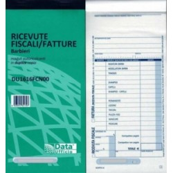 MODULISTICA Fiscale  BLOCCO RICEVUTE/FATTURE Barbieri 50/50 (DU1616FCN00)