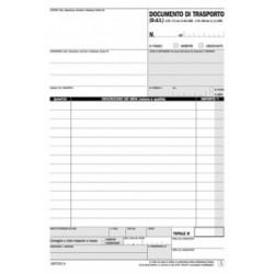 MODULISTICA DOCUMENTO TRASPORTO A5 2copie DU1607CD200 (ex P509NC)     PANFRA