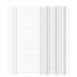 MODULISTICA REGISTRO  3colonne  24x31 100fg  Du 132330000