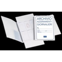 MODULISTICA CARTELLA AZZERAMENTI GIORNALIERI -A4-  SPIRALE  1820azt00