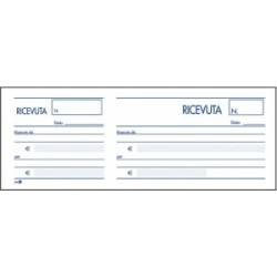 MODULISTICA RICEVUTE GENERICHE 10x22 Biemme MADRE/FIGLIA  100ff