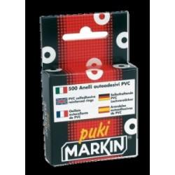 OCCHIELLI SALVABUCHI  Markin  500pz  20sc  Plastica Trasparente  -260PUKIT