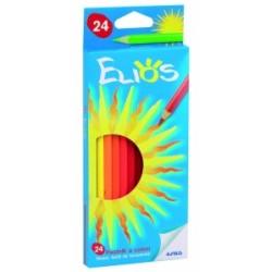 PASTELLI LEGNO GIOTTO ELIOS 24 colori