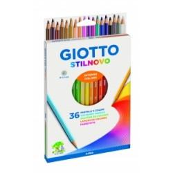 PASTELLI LEGNO Giotto  STILNOVO - 36 colori  (256700)