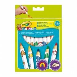 PASTELLI LEGNO Crayola MAXI MATITONI - MINI KIDS +1  conf.8pz  -3678-