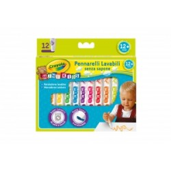 PENNARELLI DISEGNO Crayola MINI KIDS 1+  conf.12pz .8325