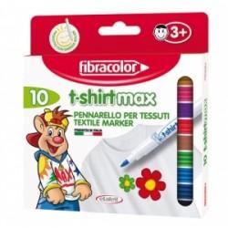 PENNARELLI DISEGNO Fibracolor T-SHIRT MAX conf.10 colori