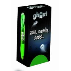 PENNARELLI scrittura GHOST CANCELLABILE SCATTO conf.12pz - VERDE (42861)