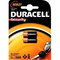 PILE DURACELL  MICRO 12 VOLT ALCALINE MN21 conf.2pz 15031681