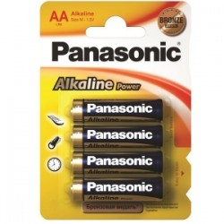 PILE Panasonic ALKALINE POWER- STILO blis.4pz  -AA-