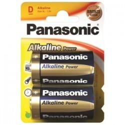 PILE Panasonic ALKALINE POWER- TORCIONE blis.2pz  -D-