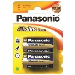 PILE Panasonic ALKALINE POWER- MEZZA TORCIA blis.2pz  -C-
