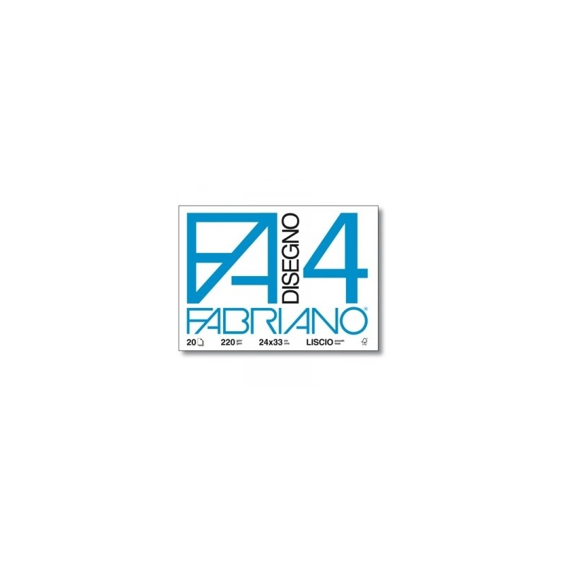 ALBUM FABRIANO F4 c/angoli 33x48 20fg LISCIO 220gr