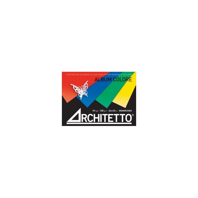 ALBUM DISEGNO Architetto COLORATO  24x33 10fg (Favini PRISMACOLOR) 128gr
